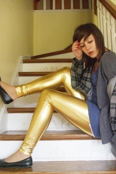 cotton on pants - cotton on dress - Secondhand coat - shoes