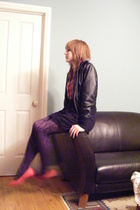 Target jacket - Secondhand shirt - supre skirt - cotton on tights - Ebay tights
