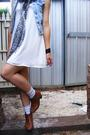 Blue-supre-vest-white-supre-dress-gray-target-scarf-white-stolen-from-my-b
