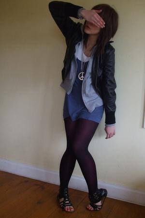Target jacket - cotton on dress - Target tights - Ebay shoes