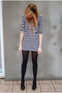 Black-no-name-tights-black-h-m-dress