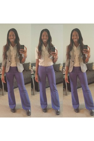 Old Navy blazer - button down NY&CO shirt - JCPenney pants