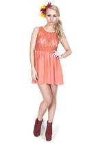 Lace-coral-dress