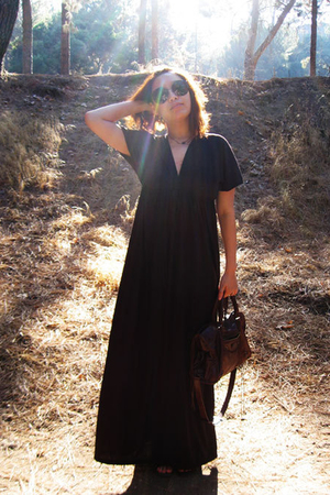 Ebay dress - linda farrow x luella sunglasses - jeffrey campbell for LF - balenc