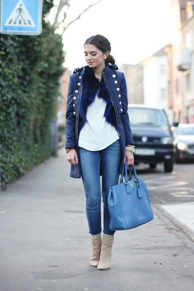 Prada Blue Bag - How to Wear and Where to Buy | Chictopia
