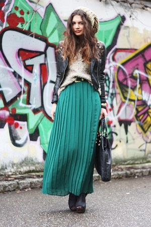 green romwe skirt