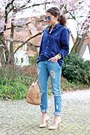Navy-ralph-lauren-blouse