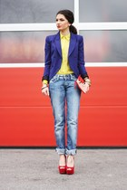 Carvela wedges - Hallhuber blouse