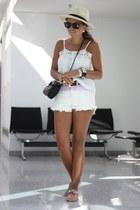 light purple Chicwish shorts