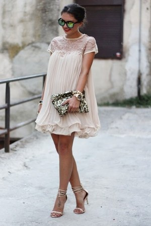 neutral Sheinside dress