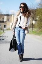 VJ-style bag - VJ-style blouse