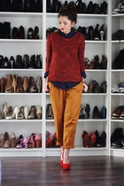 colour blocking for autumn