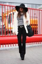 off white StylebyMarina coat - black VJ-style bag