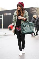 31 Phillip Lim bag - Primark jacket - warehouse pants - Converse sneakers