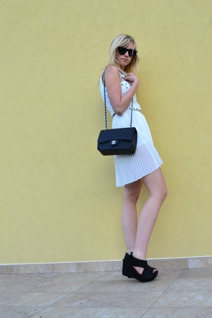 white Romwecom dress