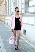 light pink Forever 21 blazer - light pink Alexander Wang bag