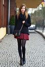 Black-urban-outfitters-sweater-black-h-ampm-tights-black-ysl-scarf