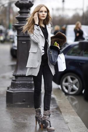 black armani pants
