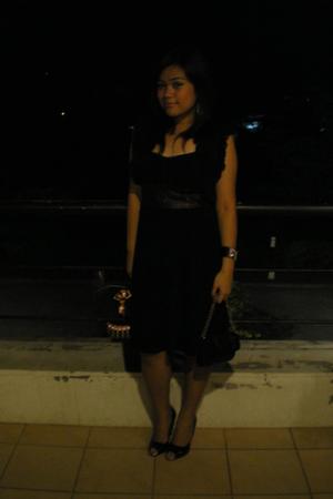 Freeway dress - Freeway blazer - prp shoes - Mango purse - Mango bracelet - Mang