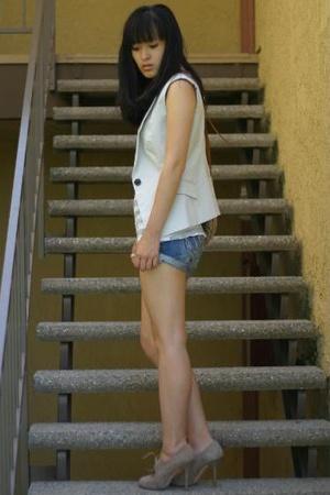 Zara shoes - LV purse - Zara vest - f21 shirt