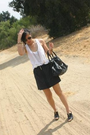 Michael Kors shoes - Joie top - Richard Chai for Target skirt - balenciaga purse
