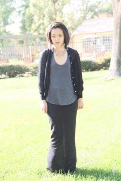 The Row skirt - Sacai sweater - Splendid top