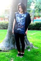 J Brand jeans - Dries Van Noten shoes - Customized by Raqiel shirt
