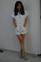 Vintage romper suit - Opening Ceremony shoes