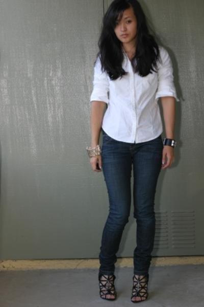 Gap jeans - Target shirt - Hermes bracelet - Givenchy shoes - from Israel bracel