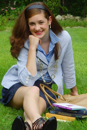vintage jacket - abercrombie and fitch skirt - old find from my closet blouse -