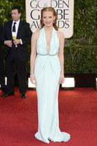 light blue calvin klein dress