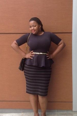 skirt - skirt - H&M blouse