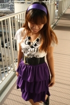 Uniqlo t-shirt - Uniqlo skirt - 168 belt - moms accessories - accessories