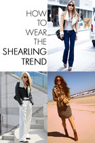 How to Wear the Shearling