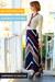 Navy-vintage-skirt