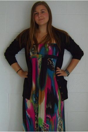 uknown dress - Primark cardigan