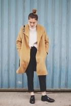 light orange coat