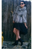 Bakers boots - Guess coat - cat eye Michael Kors sunglasses - Forever 21 skirt