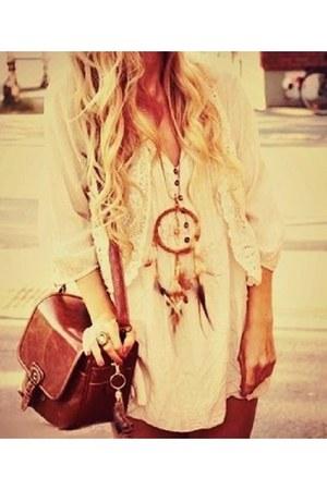 necklace - bag