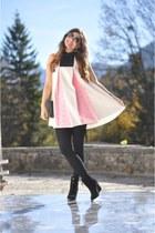 Zara boots - white H&M dress