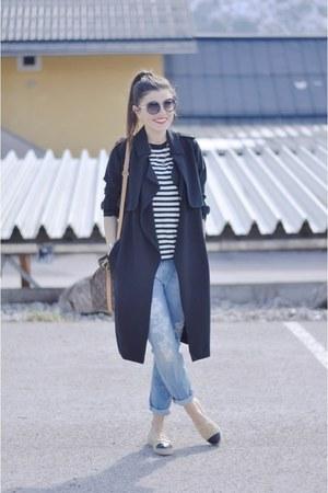 Chanel flats - Louis Vuitton bag
