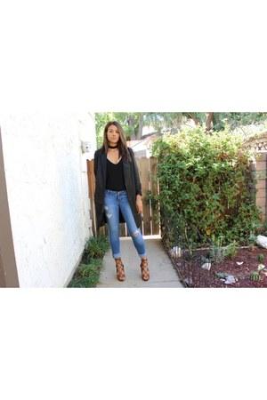 Forever 21 blazer - hollister jeans
