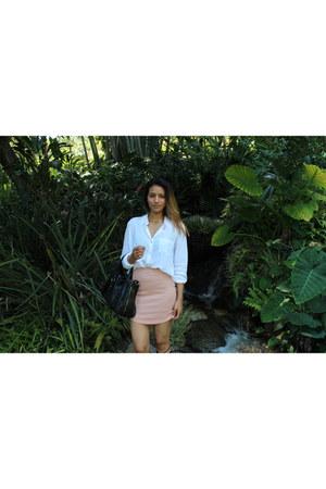 Forever 21 blouse - Boohoo skirt