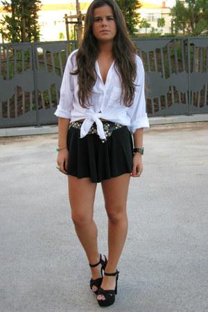 Oysho shorts - H&M sandals