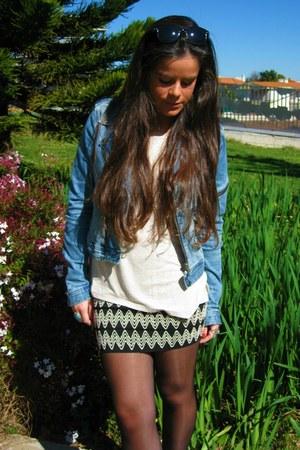 OASAP skirt - Topshop boots
