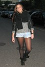 Levis-shorts-isabel-marant-for-h-m-earrings