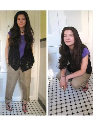 blouse - pants - vest
