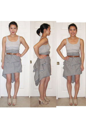 Kookai top - I made it skirt - isabella anselmi shoes