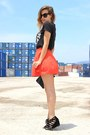 Black-blanco-bag-carrot-orange-asos-skirt