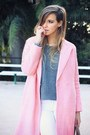 Bubble-gum-oasap-coat-white-mango-jeans-heather-gray-zara-sweater
